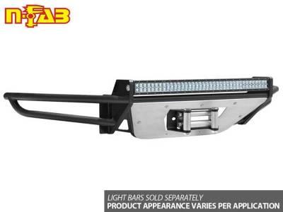 N-Fab - NFAB  RSP PreRunner Winch Front Bumper, Direct Fit LED, Gloss Black