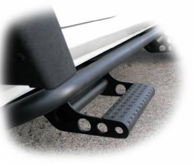 Drop Steps - Nfab Drop Steps - N-Fab - N-Fab Step System / Jeep Gear (J1246-SS)
