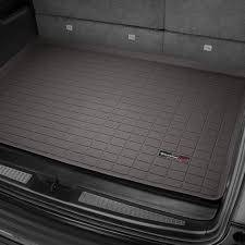 Interior Accessories - Cargo Mats - Weathertech - Cargo Liner  Behind 2nd Seat; w/o 3rd Seat; No Double Decker System; Cocoa