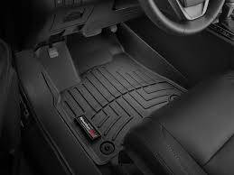 Floor Mats - Weathertech Floor Mats - Weathertech - FloorLiner(TM) DigitalFit(R)  Black; Fits Vehicles w/1st Row Bucket Seating; Not Equipped w/Floor Mounted Shifter