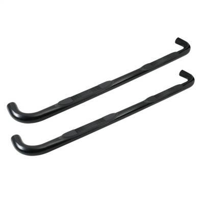 TUFF BAR 3in Step Bar Round F-150/250LD Supercab 4 Door 99-04; F-150/250LD Supercab 3 Door 1997-1998 Stainless Steel (1-0341)