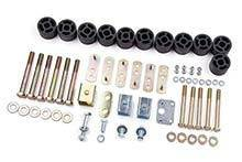 Zone - ZONE   1.25in Body Lift  97-06 Jeep TJ