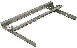 B&W - B&W Turnoverball Rail Mounting Kit Only for 88-89 GM 6.6ft Bed (GNRM1050)