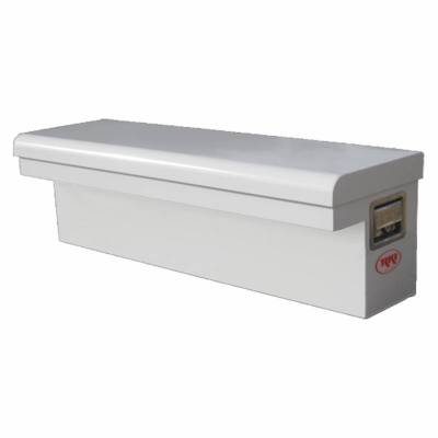 "Steel - RKI Side Mount Steel - RKI - RKI 43"" Steel Side Box Low Profile White (43SLP)"