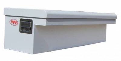 "Steel - RKI Side Mount Steel - RKI - RKI 48"" Steel Side Box Low Profile Wide White (48SLPW)"