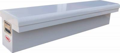 "Steel - RKI Side Mount Steel - RKI - RKI 61"" Steel Side Box Low Profile White (61SLP)"