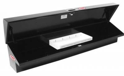 "Steel - RKI Side Mount Steel - RKI - RKI 61"" Steel Side Box Slant Top Black (61STSB)"