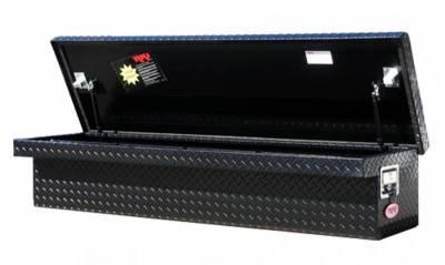 """Aluminum - RKI Side Mount Aluminum - RKI - RKI 61"""" WIDE LP ALUM SIDE BOX BLK (RKI61SLPWAB)"""