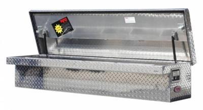 "Aluminum - RKI Side Mount Aluminum - RKI - RKI 65"" LP ALUM SIDE BOX WHT (RKI65SLPAW)"