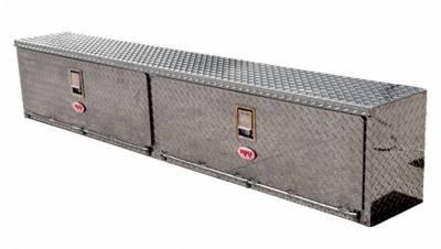 "Aluminum - RKI Side Mount Aluminum - RKI - RKI 90"" ALUM UPPER SIDE BOX (2DOOR) (RKIUS90A)"