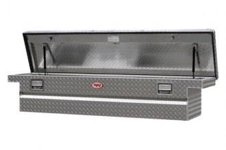 Aluminum - RKI Cross Boxes Aluminum - RKI - RKI Aluminum Cross Box Single Lid Low Profile -Compact/Mid Size Trucks (C56LPA)