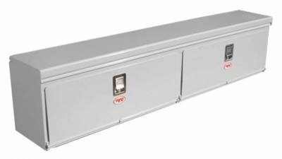 "Steel - RKI Side Mount Steel - RKI - RKI 90"" Steel Upper Side Top Opening Box White (UST90C)"
