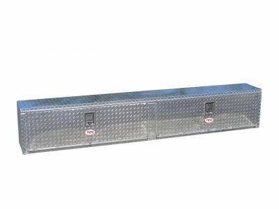 "Aluminum - RKI Side Mount Aluminum - RKI - RKI 96"" ALUM UPPER SIDE BOX (2DOOR) (RKIUS96A)"