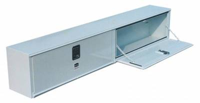 "Steel - RKI Side Mount Steel - RKI - RKI 96"" Steel Upper Side Box 2door White (US96C)"