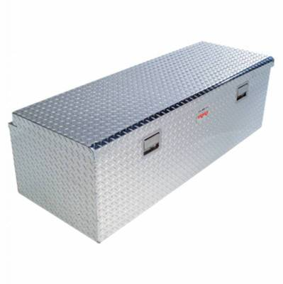 Aluminum - RKI Chest Boxes Aluminum - RKI - RKI Aluminum Chest Box Single Lid F/5th Wheel Trailer (M60FW-1NMA)
