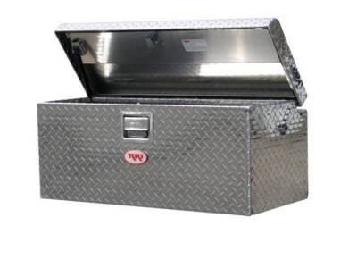Aluminum - RKI Chest Boxes Aluminum - RKI - RKI Aluminum Chest Box Single Lid F/Small Trucks (M36-1NMA)