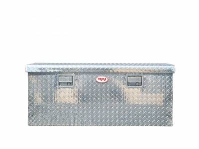 Aluminum - RKI Chest Boxes Aluminum - RKI - RKI Aluminum Chest Box Single Lid F/Sportside/Midsize (M45-1NMA)