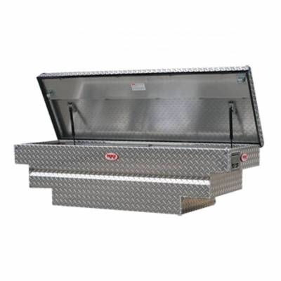 Aluminum - RKI Cross Boxes Aluminum - RKI - RKI Aluminum Cross Box Single Lid -Compact/Mid Size Trucks (C56A)