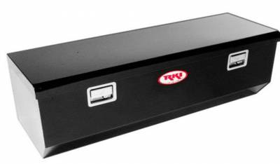 Steel - RKI Chest Boxes Steel - RKI - RKI Steel Chest Box Single Lid W/Offset Black F/Fullsize (M54U-1NMB)