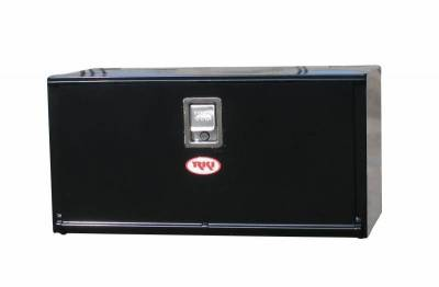 Steel - RKI Under Body Boxes Steel - RKI - RKI Steel Underbody Box 24x18x18 Black (H241818)
