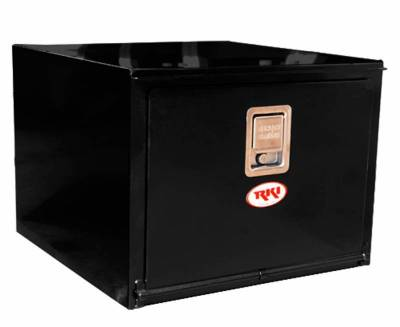 Steel - RKI Under Body Boxes Steel - RKI - RKI Steel Underbody Box 24x18x24 Black (H241824)