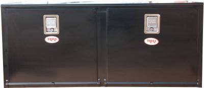 Steel - RKI Under Body Boxes Steel - RKI - RKI STEEL UNDERBODY 56X24X24 2 DOORS BLK (RKIH562424-2)