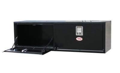 Steel - RKI Under Body Boxes Steel - RKI - RKI Steel Underbody Box 60x18x18 2 Doors Black (H601818-2)