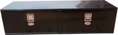 Steel - RKI Under Body Boxes Steel - RKI - RKI Steel Underbody Box 72x18x24 2 Doors Black (H721824-2)