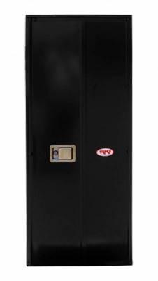 Misc. Utility - RKI Misc. Utility - RKI - RKI STEEL VERTICAL BOX 24X63X24W/OVERLAPPING DOORS BLK (RKIV246324-20)