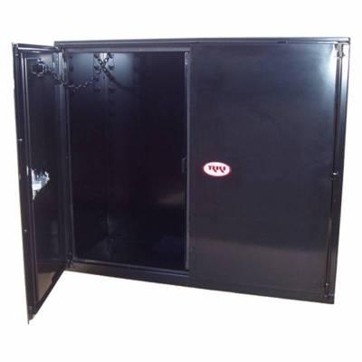 Misc. Utility - RKI Misc. Utility - RKI - RKI STEEL VERTICAL BOX 30X63X18W/OVERLAPPING DOORS BLK (RKIV306318-20)