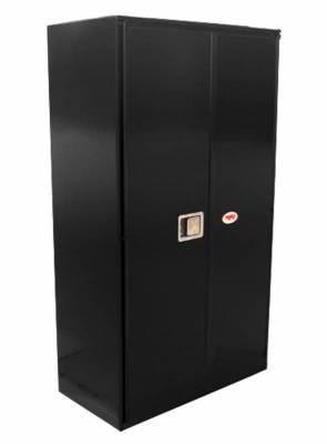 Misc. Utility - RKI Misc. Utility - RKI - RKI STEEL VERTICAL BOX 36X63X18W/OVERLAPPING DOORS BLK (RKIV366318-20)