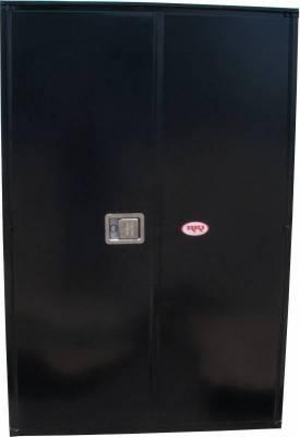 Misc. Utility - RKI Misc. Utility - RKI - RKI STEEL VERTICAL BOX 42X63X18W/OVERLAPPING DOORS BLK (RKIV426318-20)