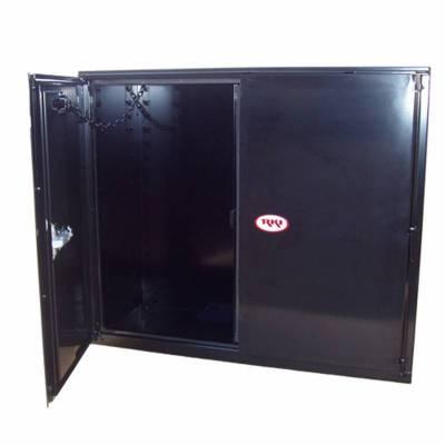 Misc. Utility - RKI Misc. Utility - RKI - RKI STEEL VERTICAL BOX 48X36X18W/OVERLAPPING DOORS BLK (RKIV483618-20)