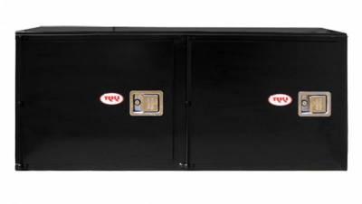 Misc. Utility - RKI Misc. Utility - RKI - RKI STEEL VERTICAL BOX 56X24X18 - 2  DOORS BLK (RKIV562418-2)