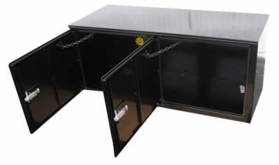 Misc. Utility - RKI Misc. Utility - RKI - RKI STEEL VERTICAL BOX 56X24X24 - 2  DOORS BLK (RKIV562424-2)