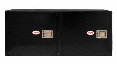 Misc. Utility - RKI Misc. Utility - RKI - RKI STEEL VERTICAL BOX 60X24X18 - 2  DOORS BLK (RKIV602418-2)