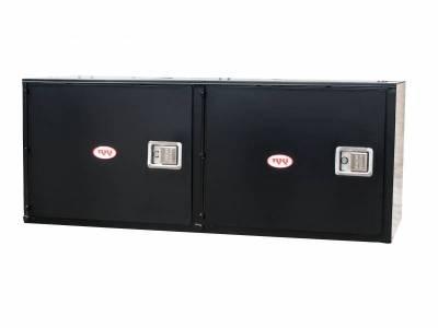 Misc. Utility - RKI Misc. Utility - RKI - RKI STEEL VERTICAL BOX 60X24X24 - 2  DOORS BLK (RKIV602424-2)