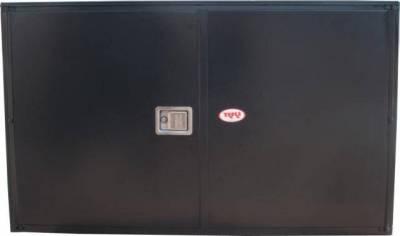 Misc. Utility - RKI Misc. Utility - RKI - RKI STEEL VERTICAL BOX 60X36X18 - 2  DOORS BLK (RKIV603618-20)