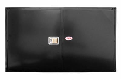 Misc. Utility - RKI Misc. Utility - RKI - RKI STEEL VERTICAL BOX 60X36X24 W/OVERLAPPING DOOR BLK (RKIV603624-20)
