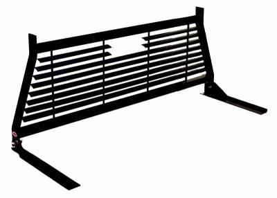 Short Angle - RKI Short Angle Racks - RKI - RKI Window Grille Black    (WG10B)