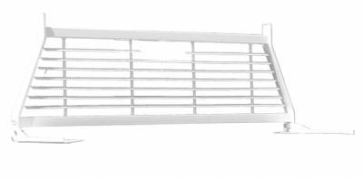 Short Angle - RKI Short Angle Racks - RKI - RKI Window Grille White 2004+ Ford F150 (WG15)