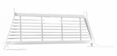 Short Angle - RKI Short Angle Racks - RKI - RKI Window Grille White Colorado Canyon (WG16)
