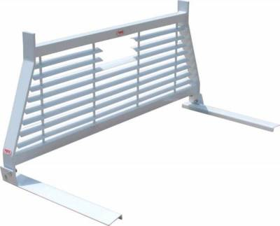 Short Angle - RKI Short Angle Racks - RKI - RKI Window Grille White Ford Ranger (WG14)