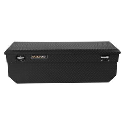 "Aluminum - Camlocker Chest Boxes Aluminum - Cam-Locker - Cam-Locker CAM 57"" Chest Notched Matte Black (TBCAM_RV57SCN_MB)"