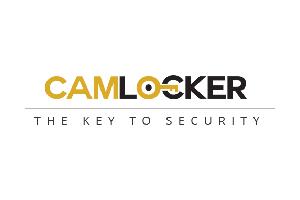 "Aluminum - Camlocker Side Mount Aluminum - Cam-Locker - Cam-Locker CAM 58"" Side Mount Gloss Black w/Rail (TBCAM_SMB58_RLGB)"