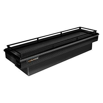 "Aluminum - Camlocker Cross Boxes Aluminum - Cam-Locker - Cam-Locker CAM 60"" Crossover 18"" Slim Gloss Black w/Rail (TBCAM_S60A_RLGB)"