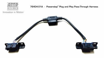 Electric Steps - Amp Research Electric Running Boards - AMP Research - AMP Plug-n-Play Pass Through Harness Only (76404-01A)