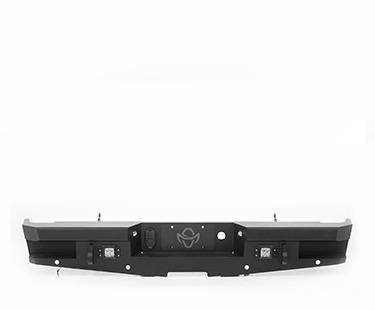 Ranch Hand Rear Bumpers - Ranch Hand Horizon Rear Bumper - Ranch Hand - Ranch Hand Rear Horizon Series Back Bumper (HBF15HBMSL)
