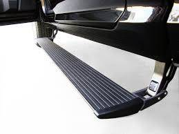 Electric Steps - Amp Research Electric Running Boards - AMP Research - AMP Powerstep Chevrolet Silverado/GMC Sierra 1500/2500/3500 Crew/Double Cab (75154-01A)