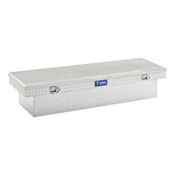 """Aluminum - UWS Cross Boxes Aluminum - UWS - 58"""" Crossover Truck Tool Box"""